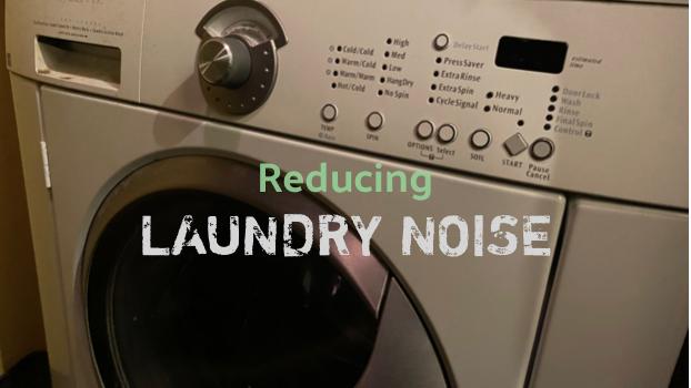 laundry room noise